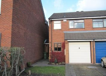 Thumbnail 2 bed semi-detached house to rent in Sedgley Road, Dudley