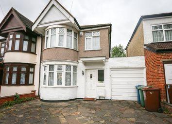 Thumbnail 4 bed semi-detached house for sale in Elmsleigh Avenue, Kenton, Harrow
