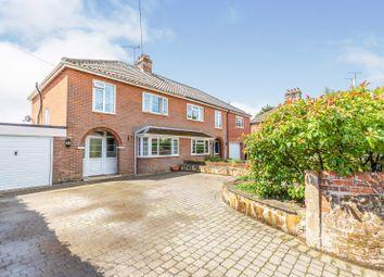 3 bed semi-detached house for sale in Fakenham, Norfolk, England NR21