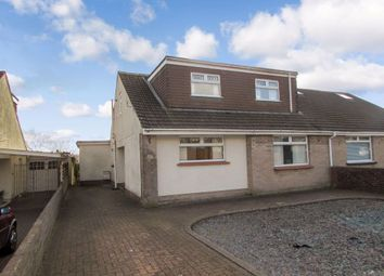 Thumbnail 4 bed bungalow to rent in Pwll Evan Ddu, Coity, Bridgend