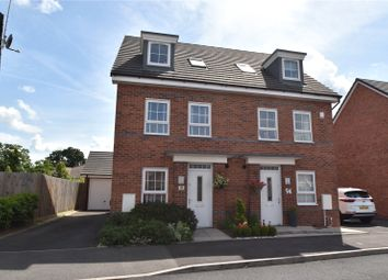 Thumbnail 4 bed semi-detached house for sale in Popert Drive, Worcester, Worcestershire