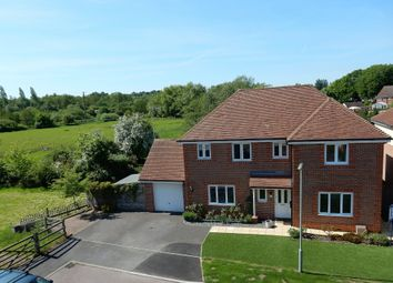Thumbnail 4 bed detached house for sale in Sherrard Way, Mytchett, Camberley