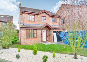 Thumbnail 4 bedroom detached house for sale in Wolston Meadow, Middleton, Milton Keynes, Bucks