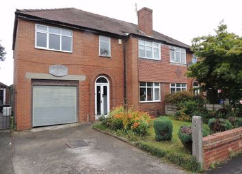 Thumbnail 4 bed semi-detached house for sale in Longmead Avenue, Hazel Grove, Stockport