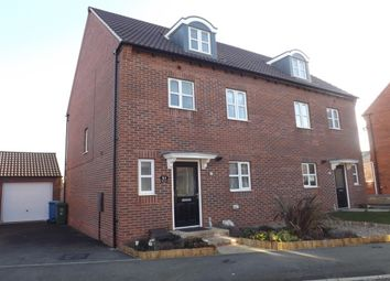 Thumbnail 4 bed semi-detached house to rent in Piper Close, Mansfield Woodhouse, Mansfield