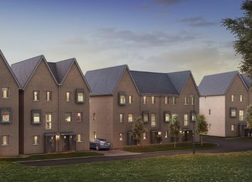 """Thumbnail 4 bed terraced house for sale in """"Peechtree"""" at Divot Way, Basingstoke"""
