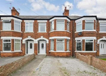 Thumbnail 3 bed terraced house for sale in Meadowbank Road, West Hull, Hull