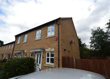 Thumbnail 2 bed terraced house for sale in Nero Way, North Hykeham, Lincoln