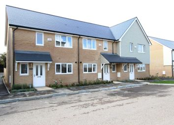 Thumbnail 2 bed terraced house for sale in George Close, Capel-Le-Ferne