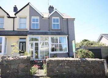 Thumbnail 4 bed semi-detached house for sale in Celynin Road, Llwyngwril, Gwynedd