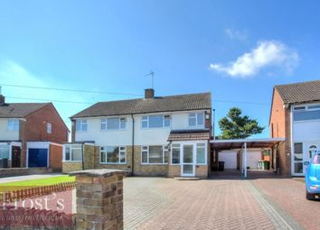 Thumbnail 3 bed semi-detached house for sale in The Crescent, Caddington, Luton