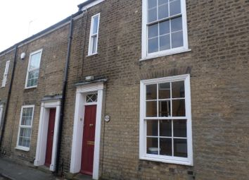 Thumbnail 2 bed end terrace house to rent in Saxon Street, Cambridge