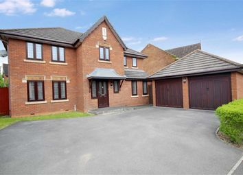 Thumbnail 4 bedroom detached house for sale in Gold View, Rushy Platt, Swindon