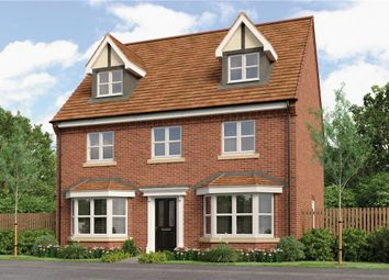 "Thumbnail 5 bed detached house for sale in ""Huxley"" at Gorsey Lane, Wythall, Birmingham"