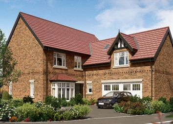"Thumbnail 5 bed detached house for sale in ""The Langham"" at Wingfield Road, Alfreton"