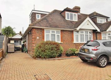 Thumbnail 3 bed semi-detached bungalow for sale in Leith Avenue, Portchester, Fareham