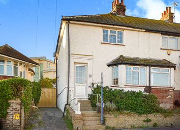 Thumbnail 3 bed end terrace house for sale in Park Crescent, Rottingdean, Brighton