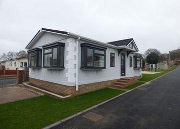Thumbnail 2 bed mobile/park home for sale in Hill Corner Farm Caravan Park, Sandy Lane, Farnborough