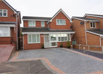 Thumbnail 4 bed detached house for sale in Palace Close, Flint