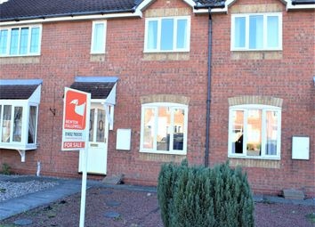 Thumbnail 2 bed terraced house for sale in Teal Close, Scawby Brook, Brigg