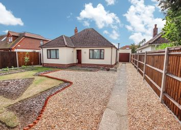 Thumbnail 3 bed bungalow for sale in Church Road, Locks Heath, Southampton