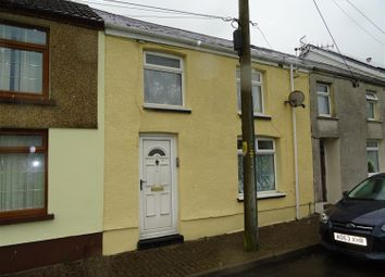 Thumbnail 3 bed terraced house to rent in Commercial Street, Nantymoel, Bridgend
