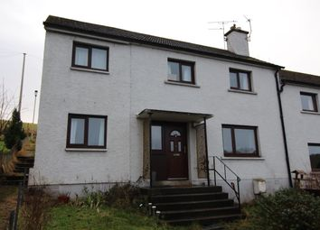 Thumbnail 5 bed terraced house for sale in Macrae Crescent, Dingwall