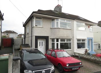 Thumbnail 3 bed semi-detached house for sale in Reigate Road, Plymstock, Plymouth