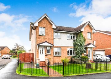 Thumbnail 3 bed semi-detached house for sale in Foresthall Drive, Springburn, Glasgow