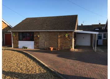 Thumbnail 2 bed detached bungalow for sale in Ash Close, Thorney, Peterborough