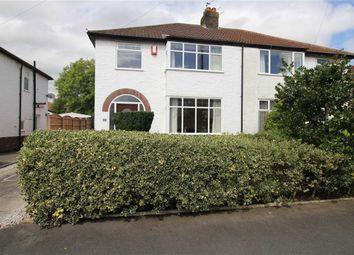 Thumbnail 3 bed semi-detached house for sale in Oakwood Drive, Fulwood, Preston