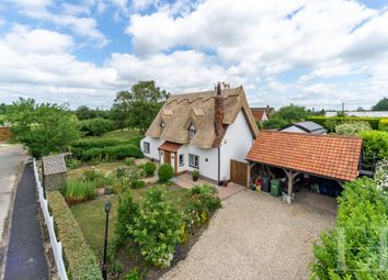 Thumbnail 4 bed cottage for sale in Hawbush Green, Cressing, Braintree