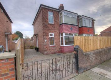 Thumbnail 3 bed semi-detached house for sale in Druridge Drive, Newcastle Upon Tyne