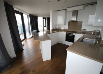 Thumbnail 3 bed flat to rent in Pinnacle Tower, 23 Fulton Road, Wembley