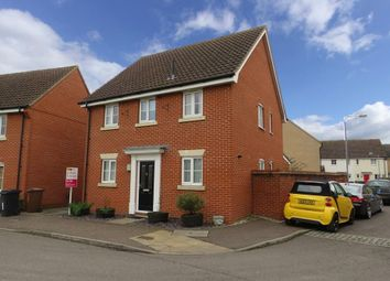 Thumbnail 4 bed detached house to rent in Lomond Road, Attleborough