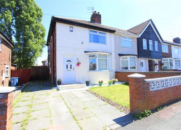 Thumbnail End terrace house for sale in Broadoak Road, Dovecot, Liverpool
