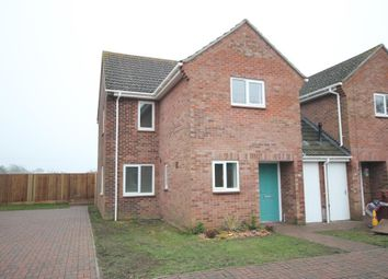 Thumbnail 3 bed semi-detached house to rent in Heaton Drive, Ely