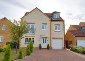 Thumbnail 5 bed detached house for sale in Temple Goring, Navenby