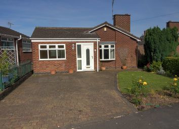 Thumbnail 3 bed bungalow for sale in Jeffries Close, Hinckley