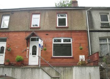 Thumbnail 3 bed terraced house for sale in Wood View, Crumlin, Newport.
