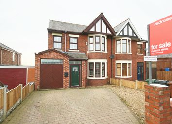 Thumbnail 4 bed semi-detached house for sale in Preston Road, Whittle-Le-Woods, Chorley