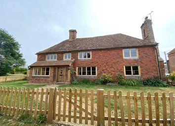 Thumbnail 4 bed detached house to rent in Battle Lane, Marden, Tonbridge