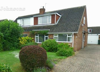 Thumbnail 3 bed semi-detached bungalow for sale in Vicarage Way, Arksey, Doncaster.
