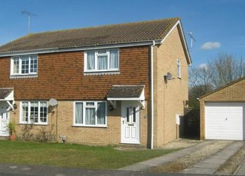 Thumbnail 2 bedroom semi-detached house to rent in Wynndale Close, Stratton St. Margaret, Swindon