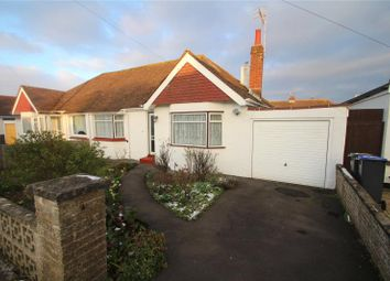 Thumbnail 2 bed semi-detached bungalow for sale in Hamilton Road, Lancing, West Sussex