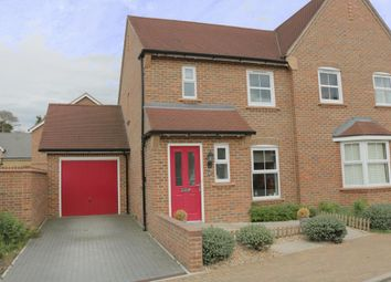 Thumbnail 2 bed semi-detached house for sale in Chilworth Way, Sherfield-On-Loddon, Hook