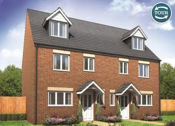 Thumbnail 4 bed semi-detached house for sale in Plot 185 Leicester, Cardea, Peterborough