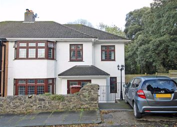 Thumbnail 4 bed semi-detached house for sale in Great Berry Road, Crownhill, Plymouth