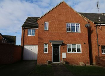 Thumbnail 4 bed detached house for sale in Jackdaw Road, Corby, Northamptonshire