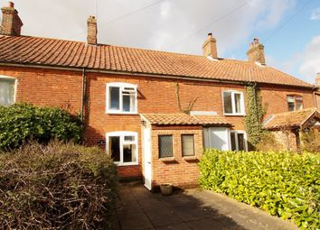Thumbnail 2 bedroom cottage for sale in Wymondham Road, Bunwell, Norwich